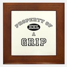 Property of a Grip Framed Tile