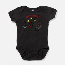 Cute Boats Baby Bodysuit