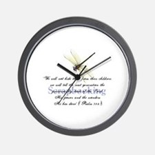 Faithbooking Wall Clock