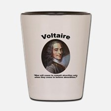 Voltaire Absurd Shot Glass