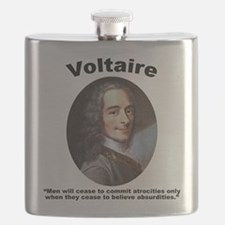 Voltaire Absurd Flask