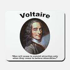 Voltaire Absurd Mousepad