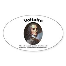 Voltaire Absurd Decal