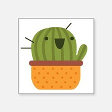 Happy Cactus Sticker