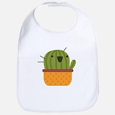 Happy Cactus Bib