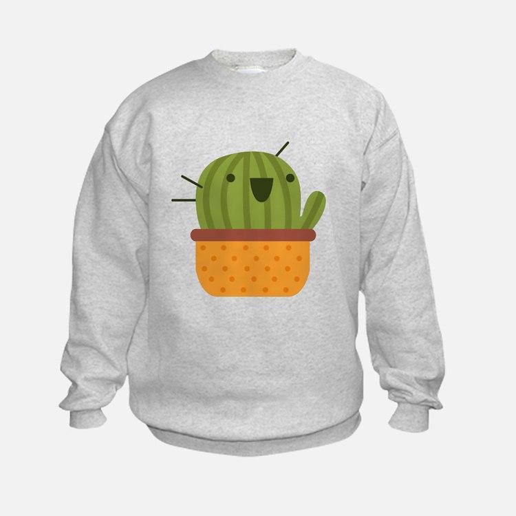 Happy Cactus Sweatshirt
