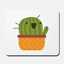Happy Cactus Mousepad