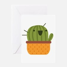 Happy Cactus Greeting Cards