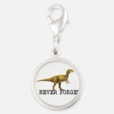 Dinosaur NEVER FORGET Charms