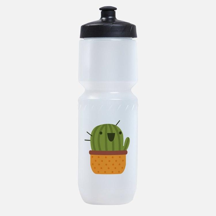 Happy Cactus Sports Bottle