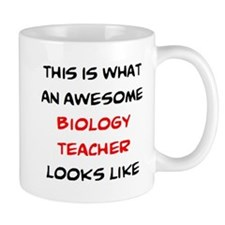 awesome biology teacher Mug