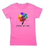 Autism Girl's Dark T-Shirt