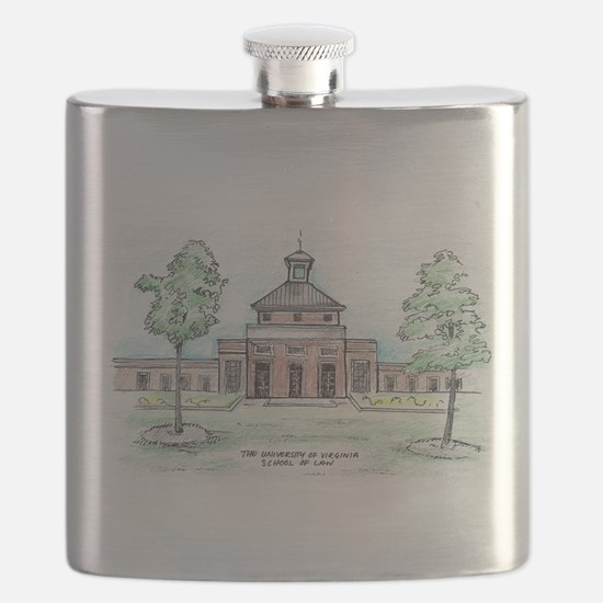 University of Virginia School of Law Flask