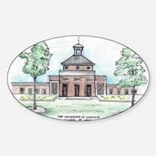 University of Virginia School of Law Decal