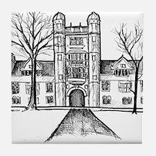 Unique Campus Tile Coaster