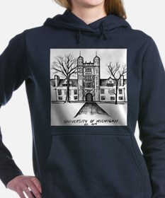 Cute Campus Women's Hooded Sweatshirt