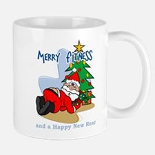 Unique Christmas for swimmers Mug