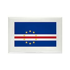 Cape Verdean Flag Rectangle Magnet