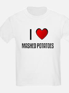 Funny I love mashed potatoes T-Shirt