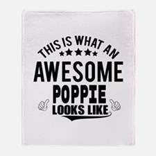 THIS IS WHAT AN AWESOME POPPIE LOOKS LIKE Throw Bl