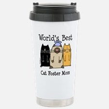 Cute Cat art Travel Mug