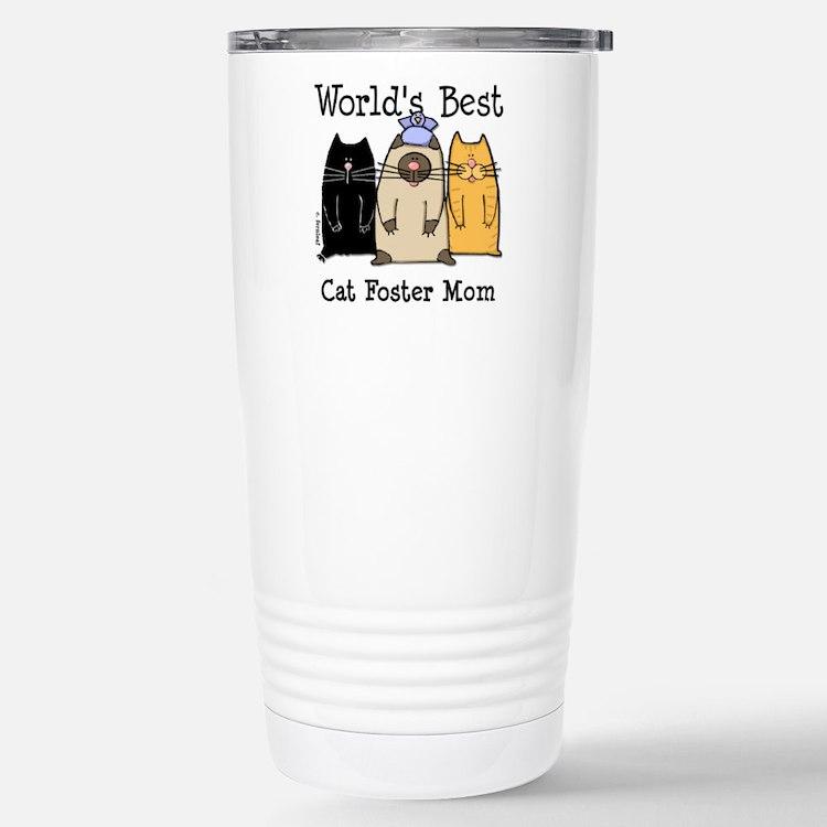 Cute Best foster mom Travel Mug
