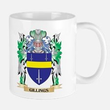 Gillings Coat of Arms (Family Crest) Mugs