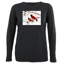 Cute State bird Plus Size Long Sleeve Tee