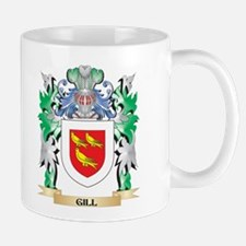Gill Coat of Arms (Family Crest) Mugs