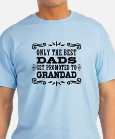 The Best Dads Get Promoted To Granda T-Shirt
