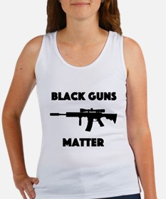 Black Guns Matter Women's Tank Top