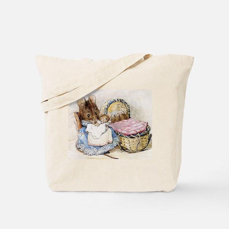 Beatrix Potter Lady Mouse Tote Bag