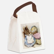 Beatrix Potter Lady Mouse Canvas Lunch Bag