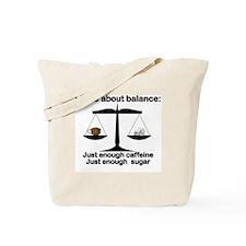 Cool Life balance Tote Bag