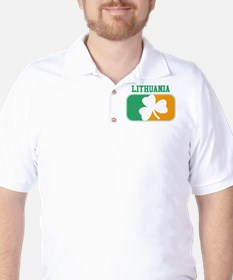 LITHUANIA irish Golf Shirt