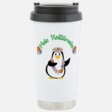 Mele Kalikimaka Penguin Travel Mug
