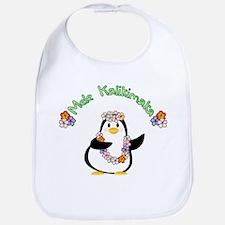 Mele Kalikimaka Penguin Bib