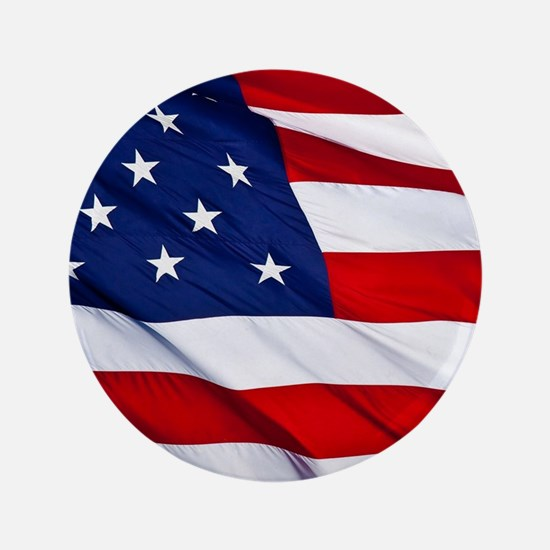 United States Flag in All Her Glory Button