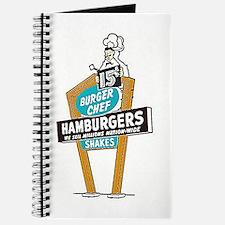 Vintage Burger Chef Sign Journal