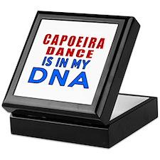 Capoeira dance is in my DNA Keepsake Box