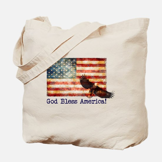 Cool Fighting eagle Tote Bag
