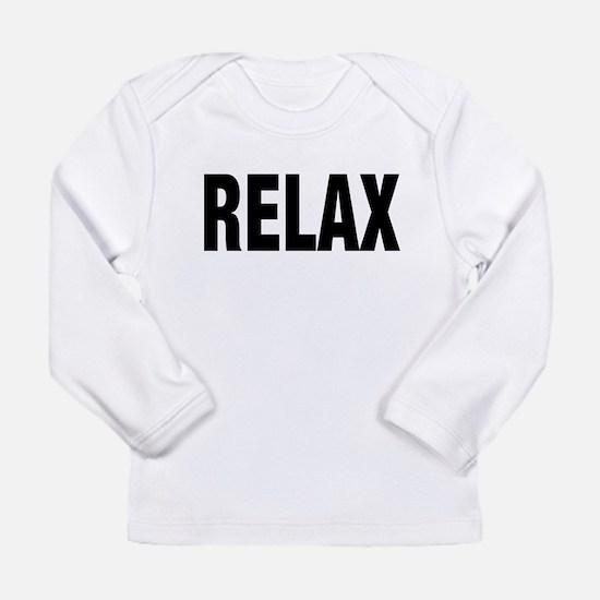 RELAX WHITE Long Sleeve T-Shirt