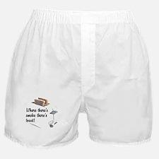 Funny Toast Boxer Shorts