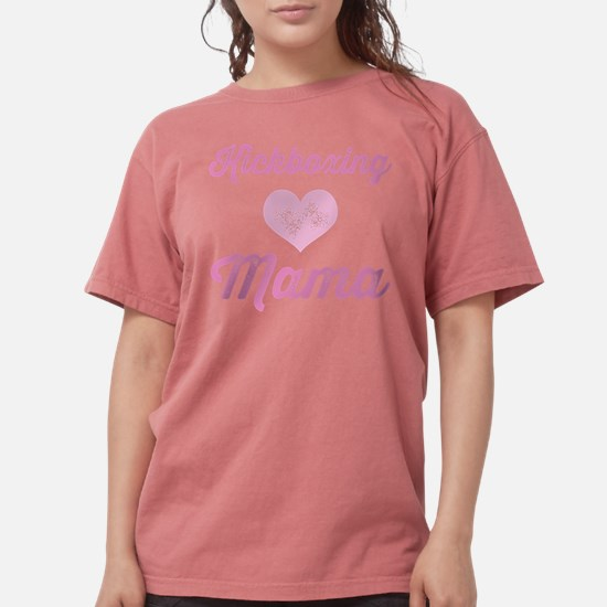 Kickboxing Mama Women's Dark T-Shirt