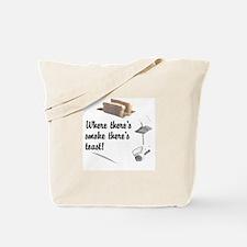 Funny Toast Tote Bag