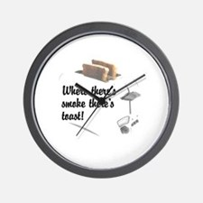Funny Toast Wall Clock