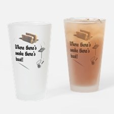 Funny Toast Drinking Glass