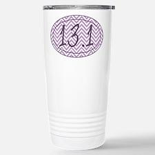 13.1 Purple Chevron Travel Mug
