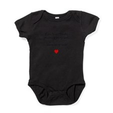 Cute If you think i %27m cute you should see my uncle Baby Bodysuit