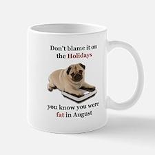 Fat in August-Design 1 Mugs